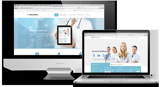 Diseño de Páginas Web Consultorio