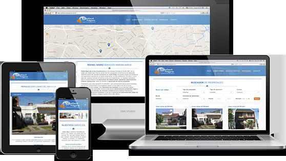 Diseño de Páginas Web Inmobiliaria