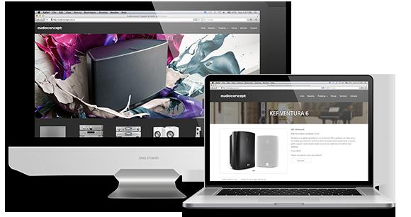 Diseño de Páginas Web con Catálogo