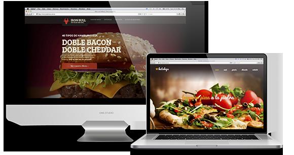 Página Web Delivery